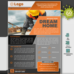 Construction Company MS Word Template